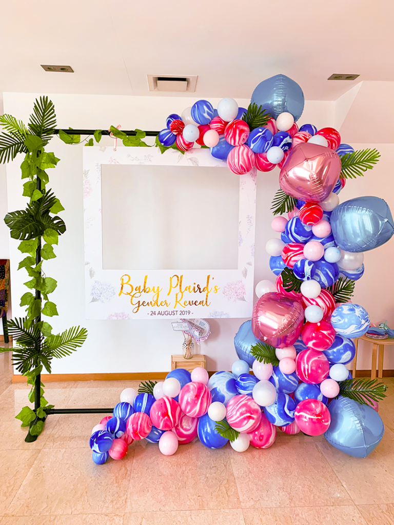 Gender Reveal Party Photo Booth