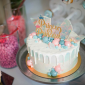 Prince or Princess Gender Reveal Cake