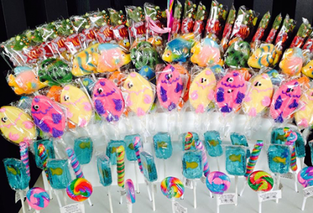 Under the sea party candy - Cerebral